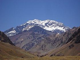 Afbeelding van het Aconcagua gebergte