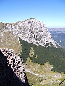 Uno scorcio dei Monti Sibillini
