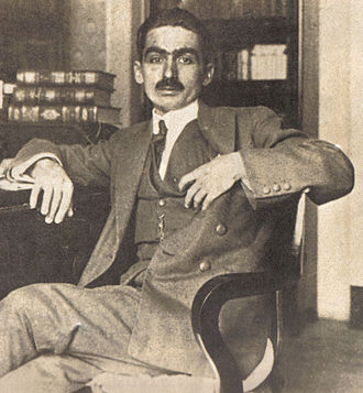 Monteiro Lobato - Lobato around 1920 at Cia. Editora Nacional