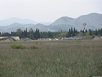 Montenegrian air force Golubovci airbase