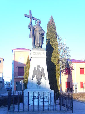 John of the Cross - Statues in Fontiveros of John of the Cross, erected in 1928 by popular subscription by the townspeople