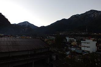 Uttarkashi - Morning at Uttarkashi Town