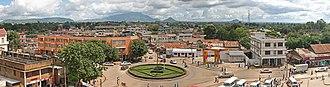 Morogoro - Panorama of Morogoro Town
