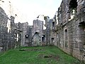 Morton Castle great hall ruins, Thornhill, Dumfries and Galloway, Scotland.jpg