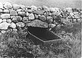 Mortsafe in graveyard at Durris, Aberdeenshire. Wellcome L0012144EA.jpg