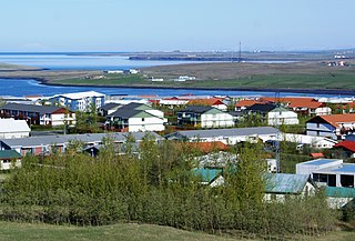 Mosfellsbær town in south-west Iceland