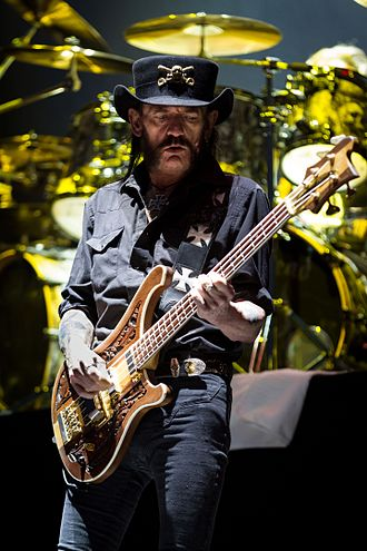 Lemmy - Lemmy in May 2015, at Rock am Ring, Germany