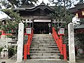 Motomiya Shrine in Taikodani Inari Shrine.jpg