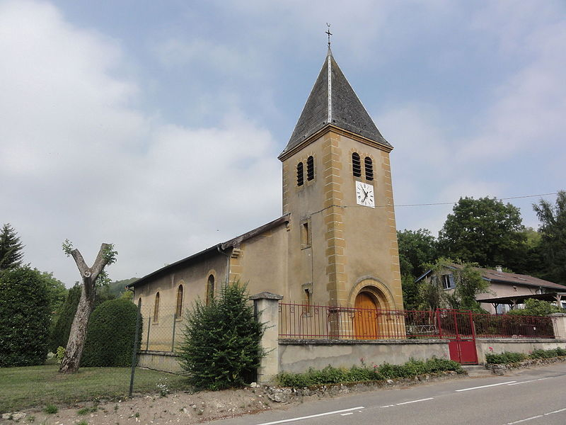 Moulainville (Meuse) église