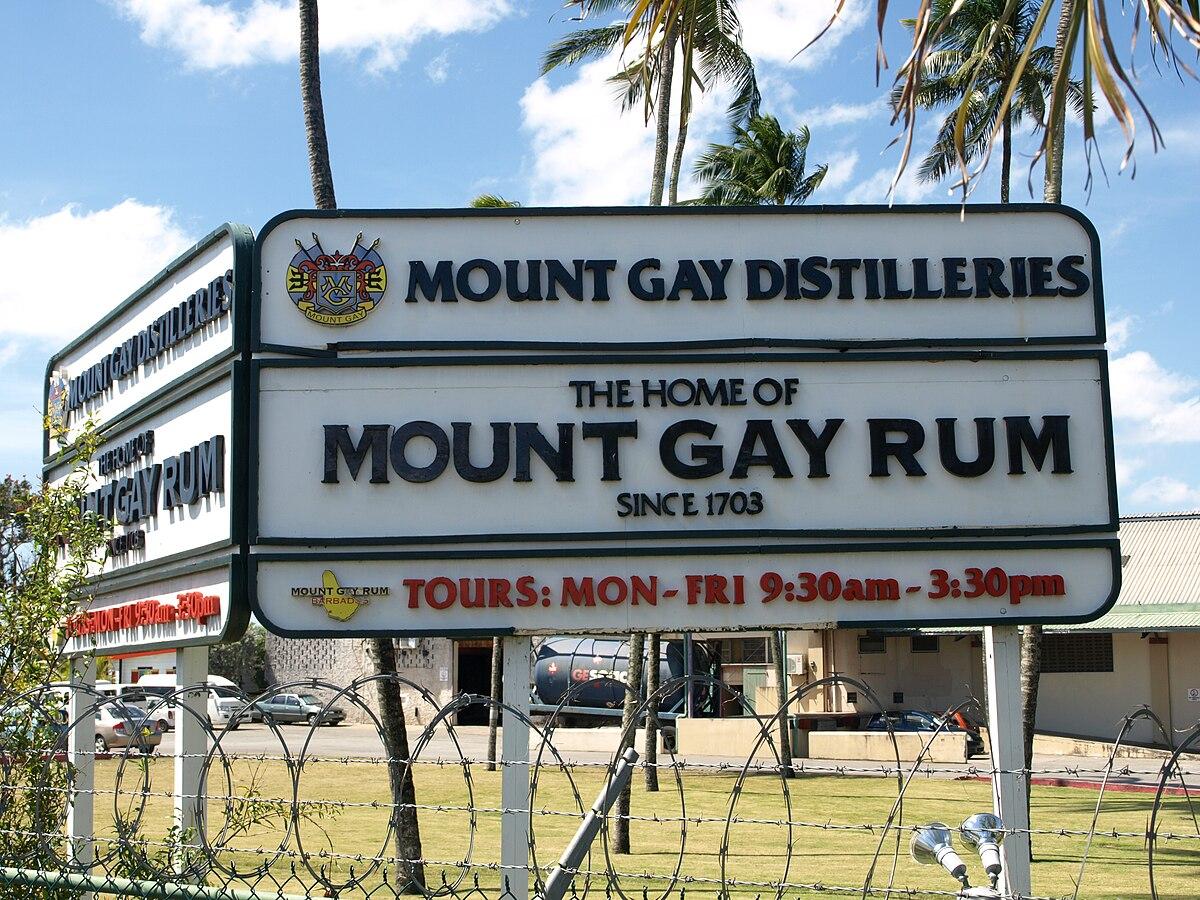from Kalel mount gay rum pronunciation