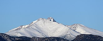 Mount Meeker - Image: Mount Meeker and Longs Peak