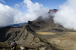Mount Doom - Mount Ngauruhoe was Peter Jackson's inspiration for Mt. Doom