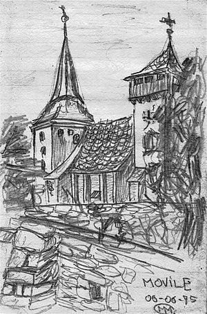 Iacobeni, Sibiu - St. Michael's Church in Movile