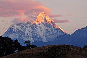 Nanda Devi - Image: Mt. Nanda Devi