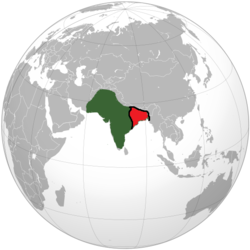 Location of Bengal