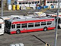Muni XT40 trolleybus at Presidio Division, June 2018.JPG