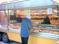 Munich weekly market at Mangfallplatz - Steingraber mobile bakery customer.JPG
