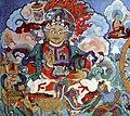 Mural painting, monastery Hemis, Ladakh, India.jpg