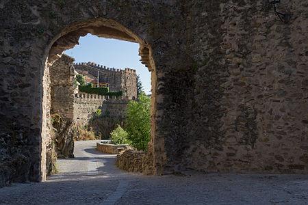 Walls of Buitrago del Lozoya, Community of Madrid, Spain.
