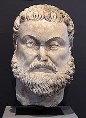 Head of Maximian Ra 34 b