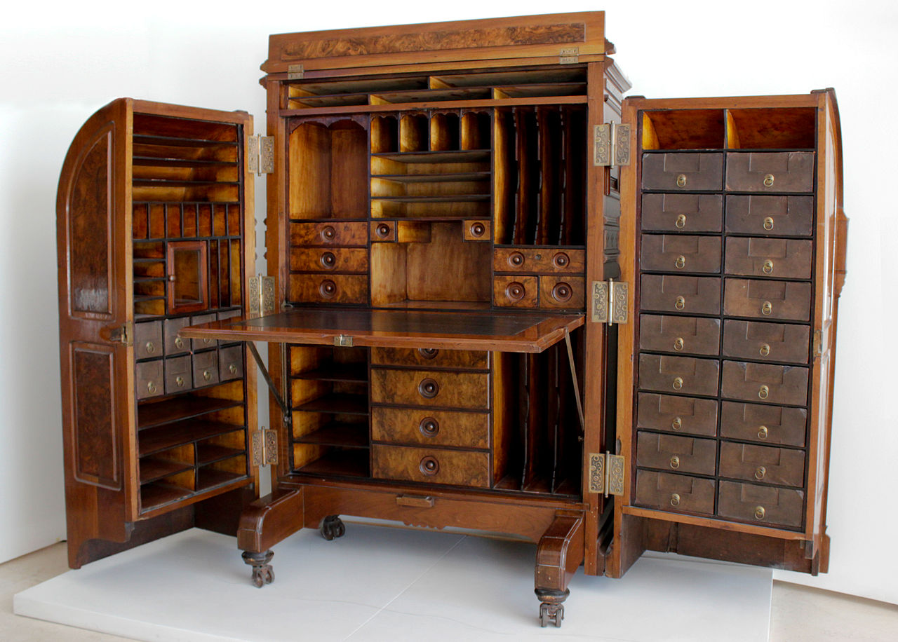 File museo del bicentenario secreter de domingo f wikimedia commons - Mueble secreter ...