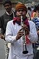 Musician - Upanayana Ceremony - Simurali 2015-01-30 5291.JPG