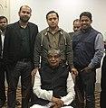 Mustafa Jabbar with member of Bangladesh ICT Journalist Forum (BIJF) members.jpg