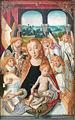 Muttergottes mit musizierenden Engeln um 1490 ohne Rahmen.jpg