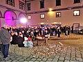 Muzej Međimurja, Čakovec - publika u atriju.jpg