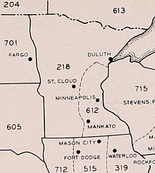 Mpls Zip Code Map.Area Code 612 Wikipedia