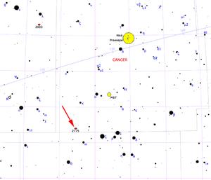 NGC 2775 - Image: NGC2775map