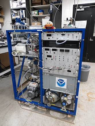 Chemical ionization - Peroxynitrate chemical ionization mass spectrometer at the US National Oceanic and Atmospheric Administration