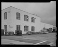 NORTH FRONT, NORTHEAST CORNER FROM SECOND STREET - Torpedo Assembly Shop, Second and H Streets, Keyport, Kitsap County, WA HABS WA-264-1.tif
