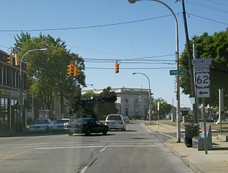 U.S. Route 62 in New York - Original northern terminus of US 62 at Main Street (now NY104) in Niagara Falls, now the northern terminus of US62 Business