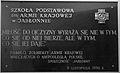 Nadanie imienia Armii Krajowej szkole podstawowej w Jabłonnie - tablica upamiętniająca.jpg