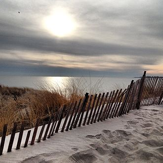 Watch Hill, Rhode Island - The barrier beach of Napatree Point