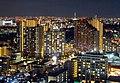 Narashino cityscape at night; 2016(cropped).jpg