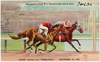Alsab - Alsab winning over Whirlaway in 1942