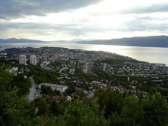 Narvik - View of Narvik