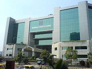 National Stock Exchange of India Stock Exchange located in Mumbai, India