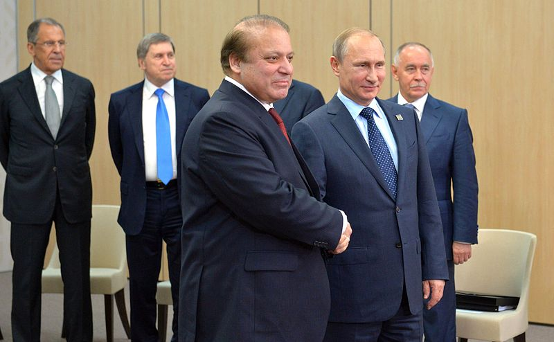 Nawaz Sharif and Vladimir Putin, Ufa.jpg