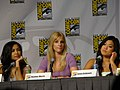Naya Rivera, Heather Morris & Jenna Ushkowitz (4852414675).jpg