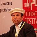 Nazir Ahmad Bulbul during Islamabad Literature Festival.jpg