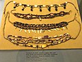 Necklaces, Peru coast, various materials - South American objects in the American Museum of Natural History - DSC06102.JPG
