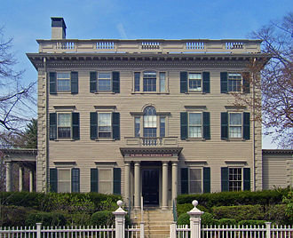 National Register of Historic Places listings in Providence, Rhode Island - Image: Nelson Aldrich House edit 1