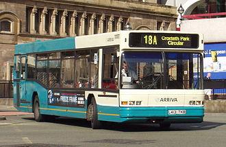 Neoplan N4016 - Arriva North West & Wales Neoplan N4016 in Liverpool