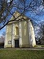 Neratovice, kostel svatého Vojtěcha, vstupní strana.jpg