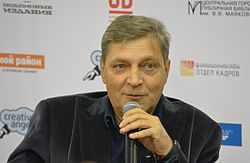 Nevzorov at Open Library debate 140928 (2).jpg