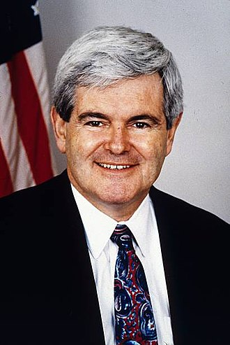 "1990 United States federal government shutdown - Newt Gingrich, then the House minority whip, led a revolt that led to the 1990 government shutdown.  Because Gingrich opposed a deal supported by Congressional leaders from both parties, House Minority Leader Robert H. Michel characterized the revolt as ""a thousand points of spite""."