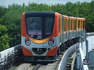 Fully automated transit system, generally serving relatively small areas such as airports, downtown districts or theme parks